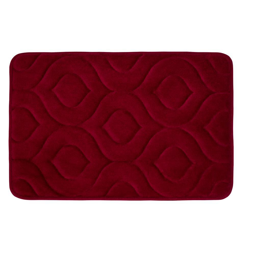 Bouncecomfort Naoli Barn Red 20 In X 34 In Memory Foam