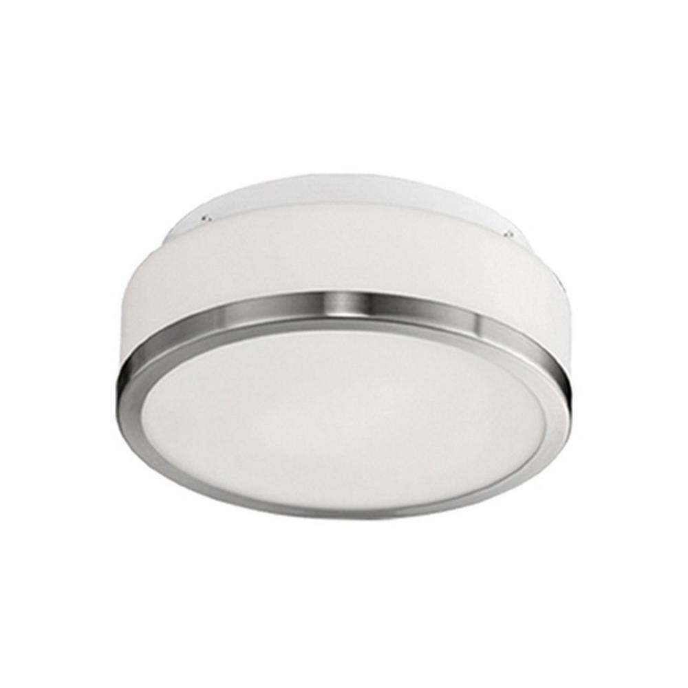 Arlington 3-Light Brushed Nickel Flush Mount