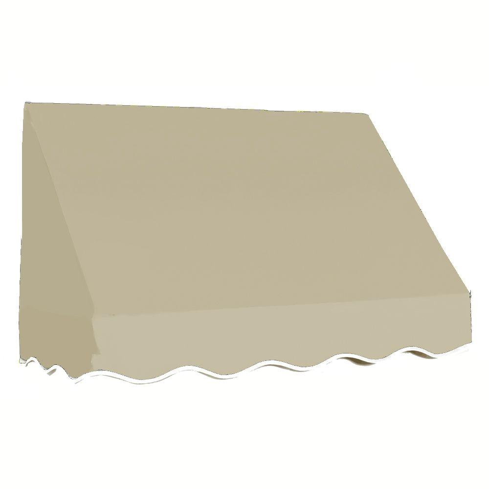 AWNTECH 8 ft. San Francisco Window/Entry Awning (56 in. H x 36 in. D) in Tan