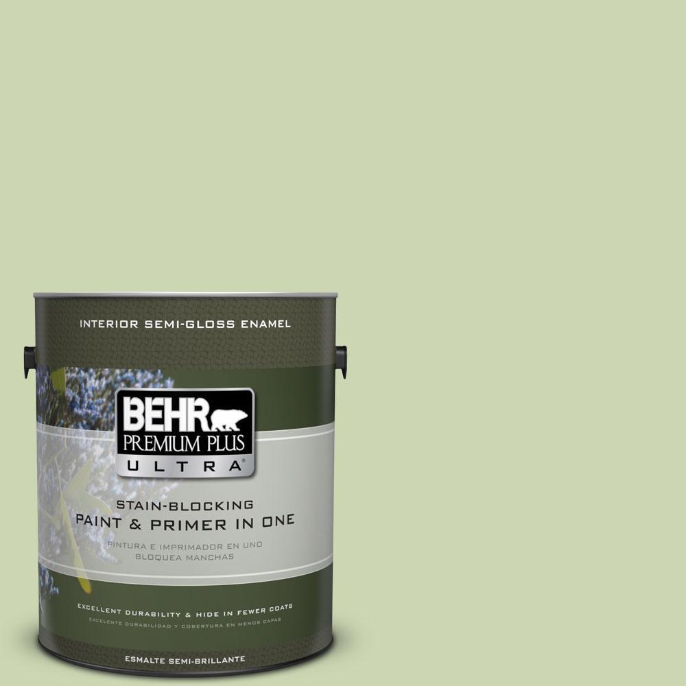 1-gal. #M360-3 Avocado Whip Semi-Gloss Enamel Interior Paint