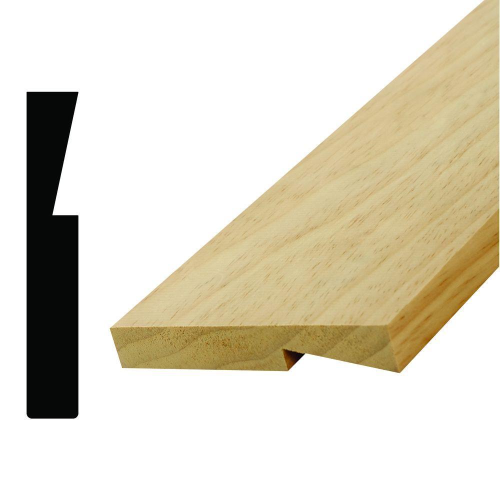 8669 11/16 in. x 4-1/4 in. Pine Stool Moulding