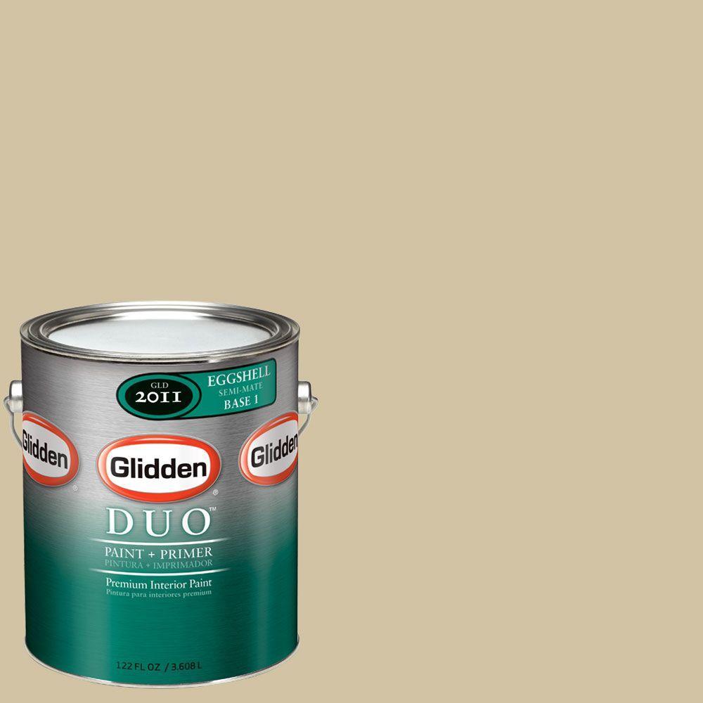 Glidden DUO Martha Stewart Living 1-gal. #MSL074-01E Eiderdown Eggshell Interior Paint with Primer-DISCONTINUED