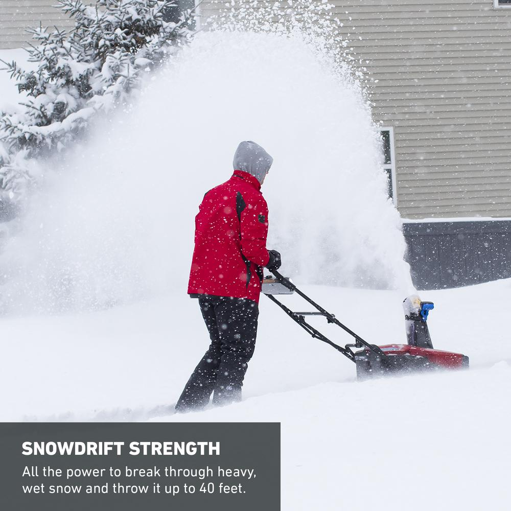 Toro Power Clear 21 in  60-Volt Lithium-Ion Brushless Cordless Electric  Snow Blower with 7 5 Ah Battery/Charger Included