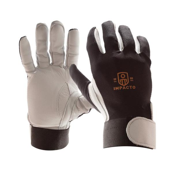 X-Large Full Finger Leather Anti-Impact Glove