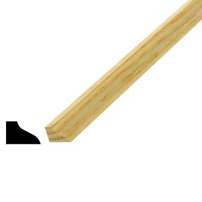 WM 131 1/2 in. x 3/4 in. x 96 in. Pine Base Shoe Moulding