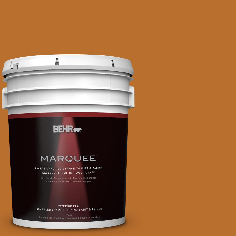 5-gal. #S-H-280 Acorn Spice Flat Exterior Paint