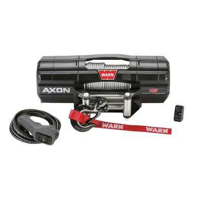 AXON 45 Series 4500 lbs. Powersport Winch with Steel Cable