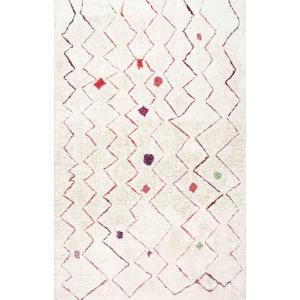Nuloom Ninfa Moroccan Red 8 Ft X 10