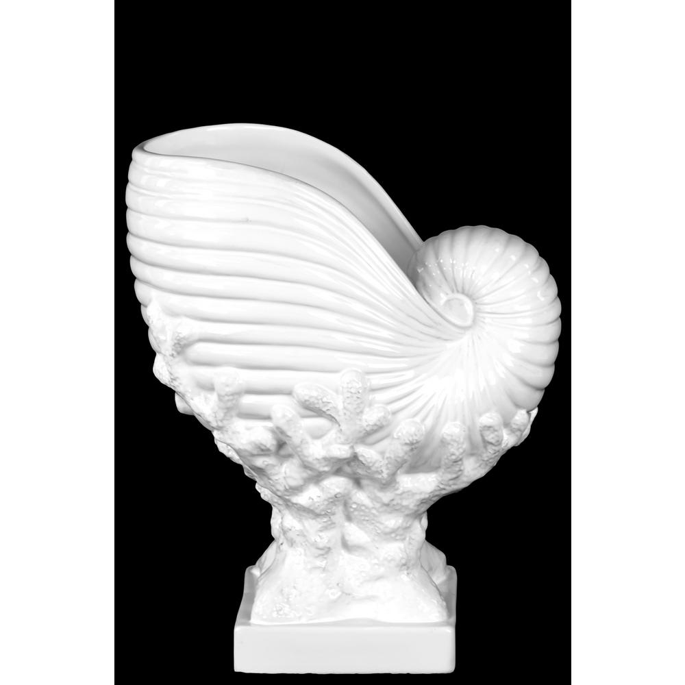 Urban Trend 11.75 in. H Seashell Decorative Sculpture in ...
