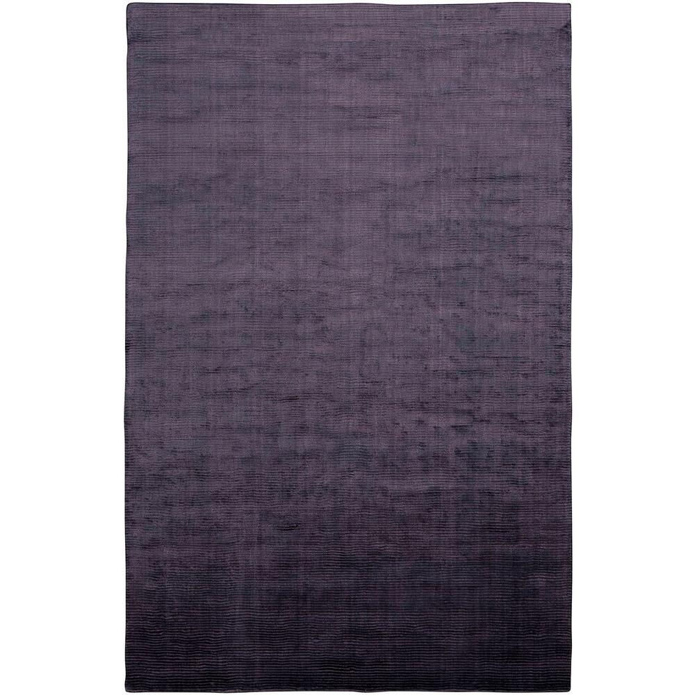LR Resources Satori Purple 5 ft. x 7 ft. 9 in. Plush Indoor Area Rug