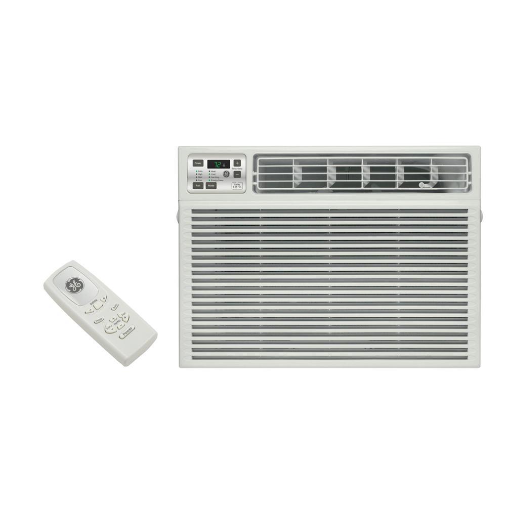 11,800 BTU 230-Volt Electronic Heat/Cool Room Window Air Conditioner