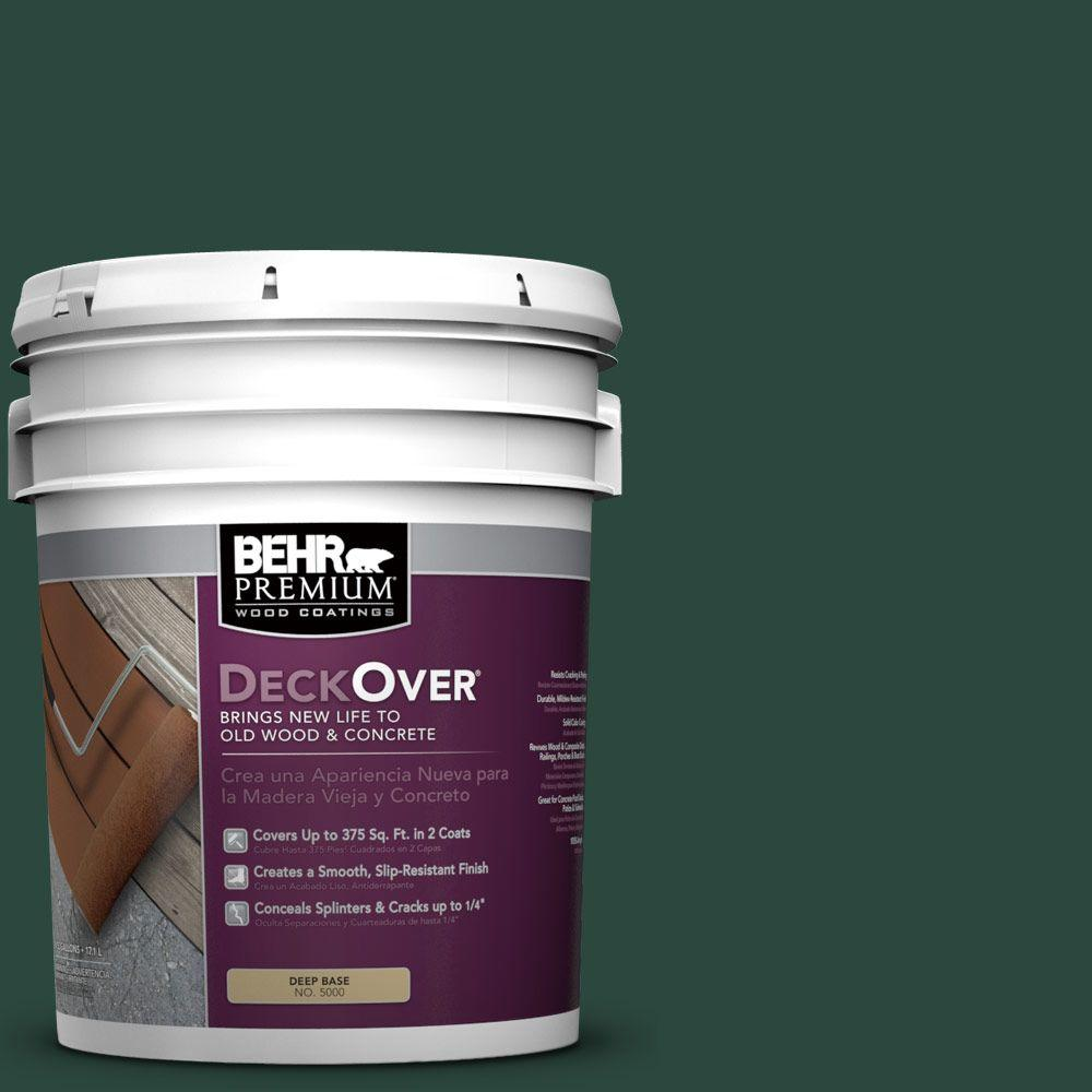 BEHR Premium DeckOver 5 gal. #SC-114 Mountain Spruce Wood and Concrete Coating