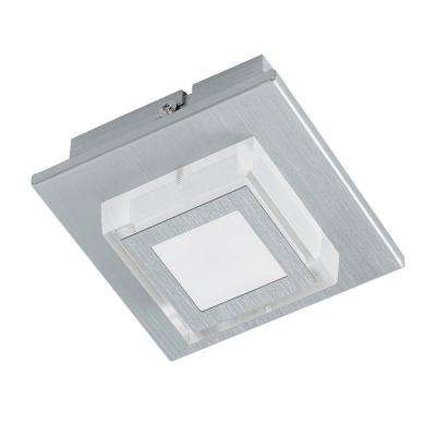 Masiano Brushed Aluminum Integrated LED Ceiling/Wall Light