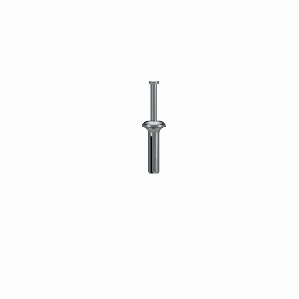 1/4 in. x 1 in. Zinc Nailon Pin Drive Anchor (100