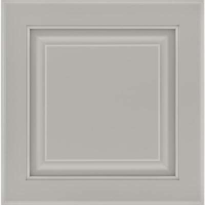 13 in. x 12-7/8 in. Cabinet Door Sample in Olmsted Painted Stone