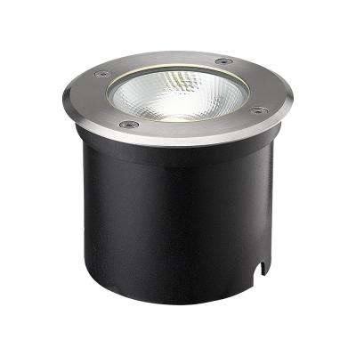 7-Watt Stainless Steel Outdoor Integrated LED Landscape Well Light