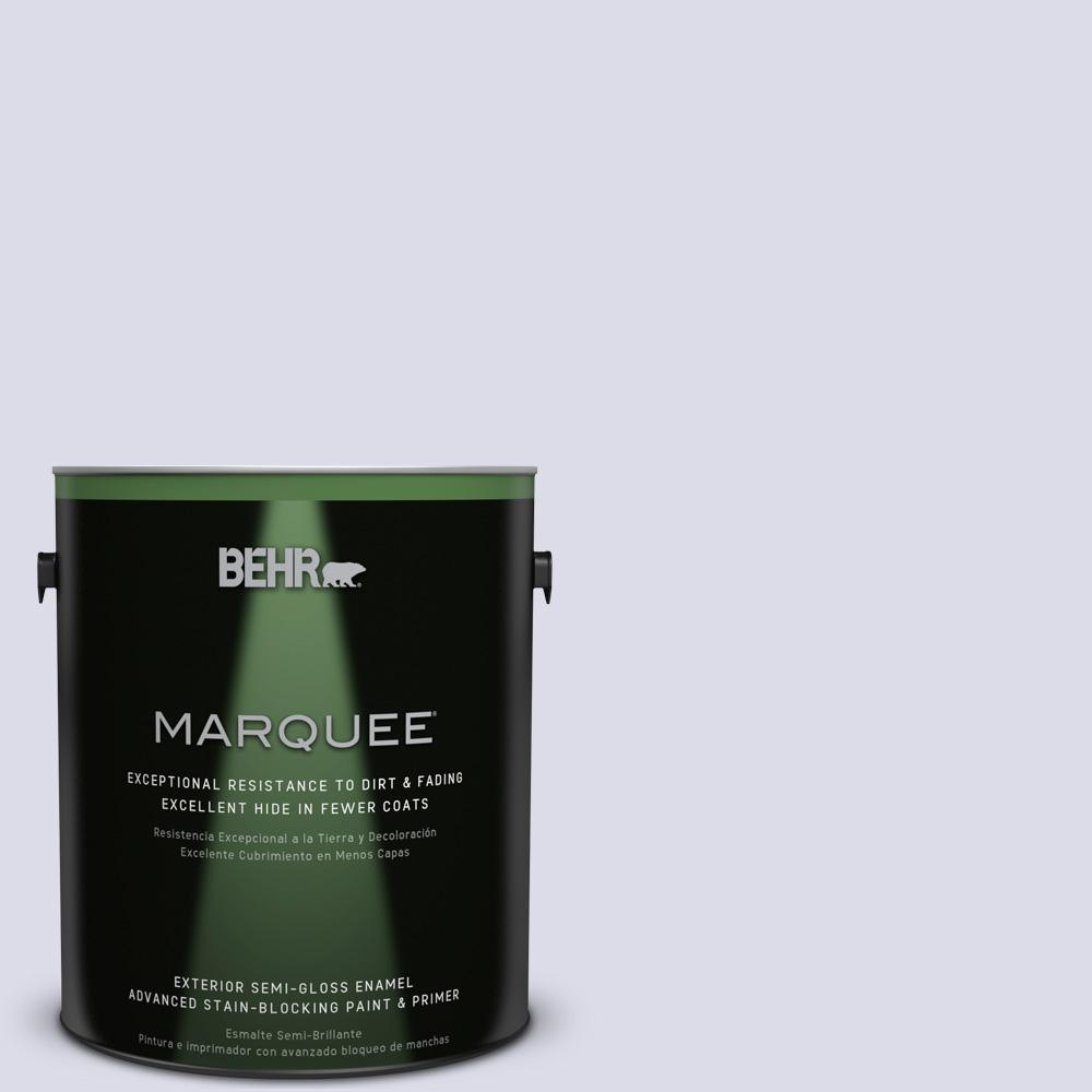 BEHR MARQUEE 1-gal. #640C-1 Hosta Flower Semi-Gloss Enamel Exterior Paint