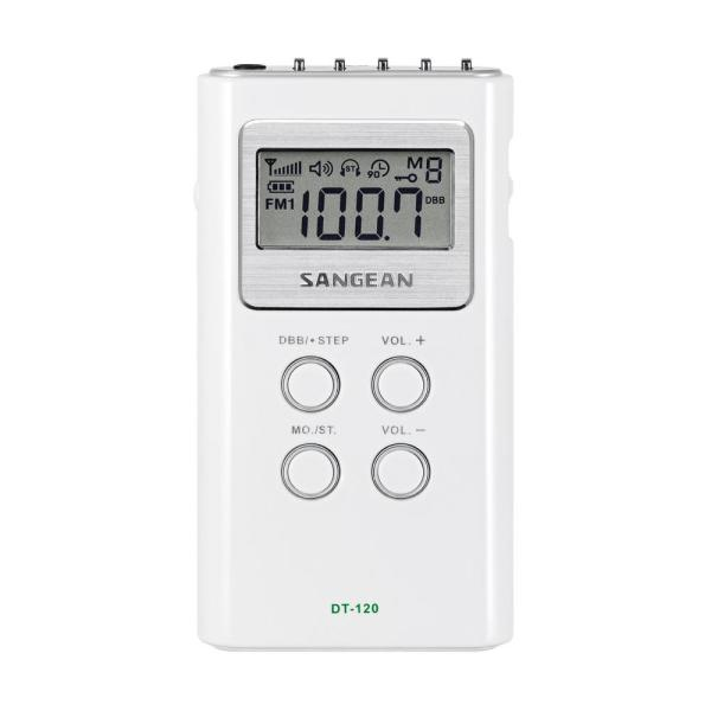 Ultra Compact FM/AM Stereo Pocket Radio