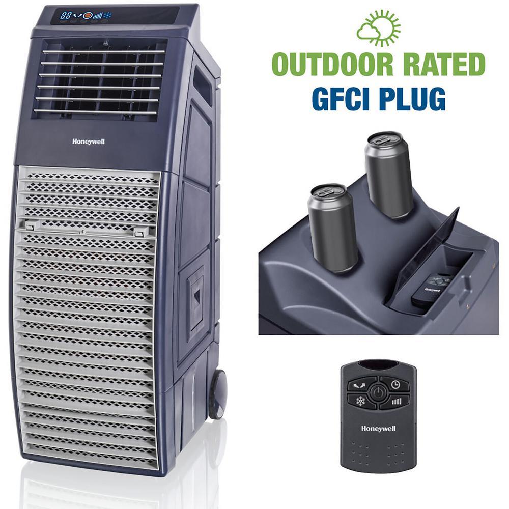 1000 CFM 2-Speed Outdoor Portable Evaporative Cooler (Swamp Cooler) for 460 sq. ft.