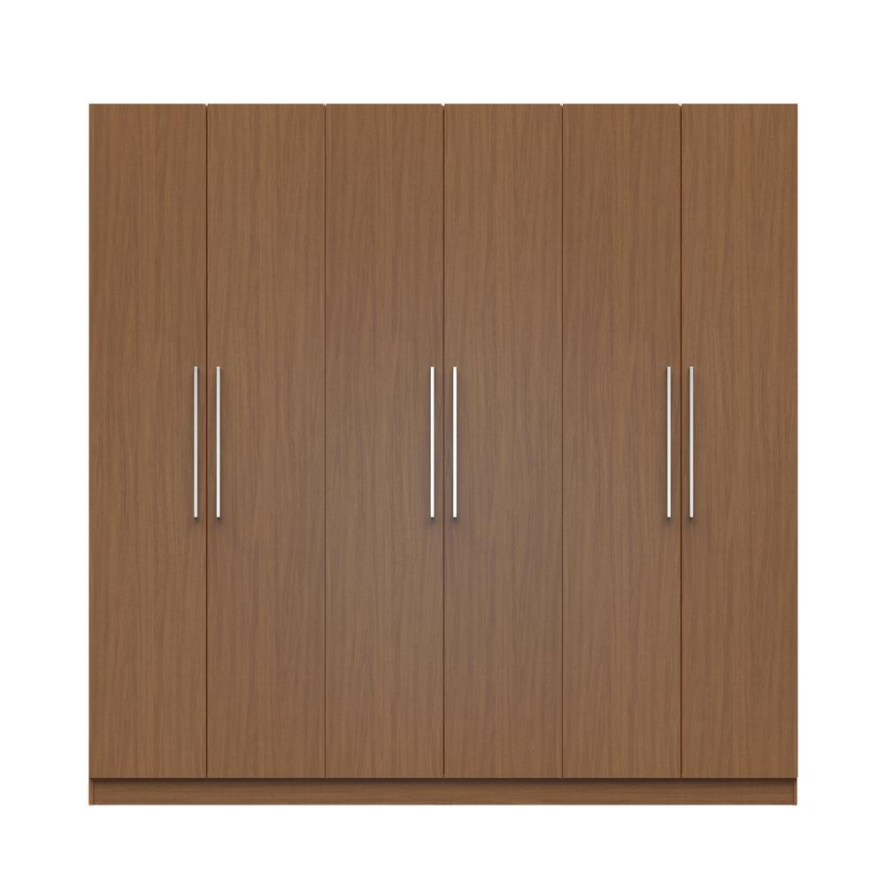 Manhattan Maple Cream Sectional Wardrobe Drawers Doors Maple Cream Matte Product Image