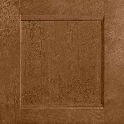 14-9/16 in. x 14-1/2 in. Cabinet Door Sample in Del Ray Cherry Autumn