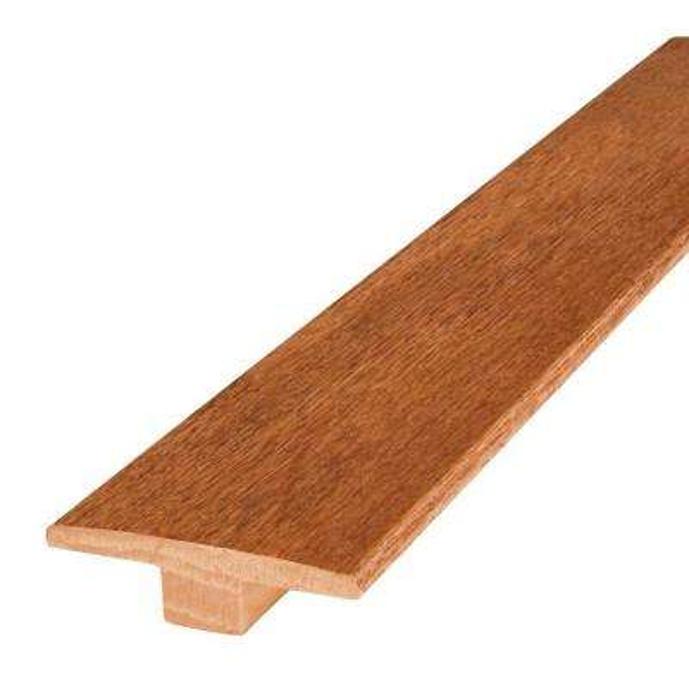 Oak Gunstock 2 in. Wide x 84 in. Length T-Molding