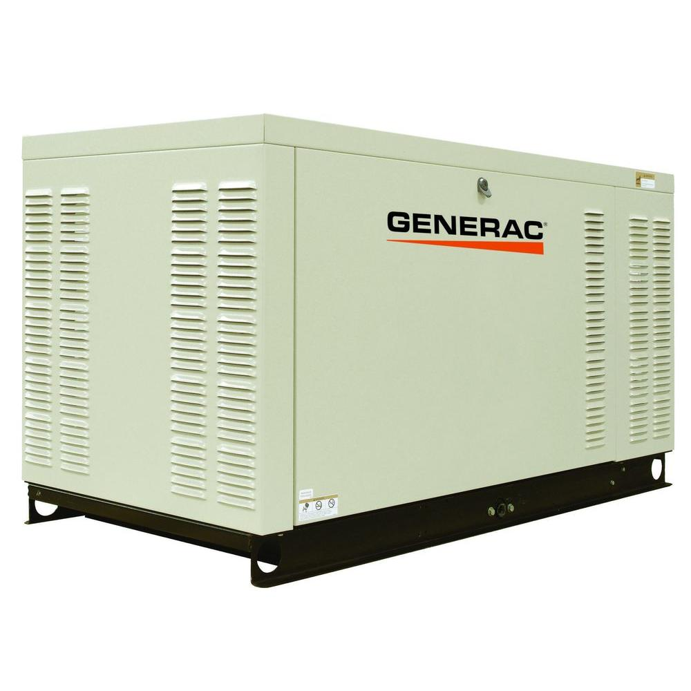 Generac 25,000-Watt Liquid Cooled Standby Generator