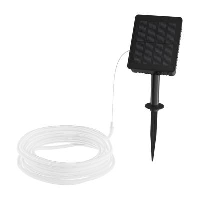 100-Light 39 ft. Warm White Integrated LED Solar Rope Light