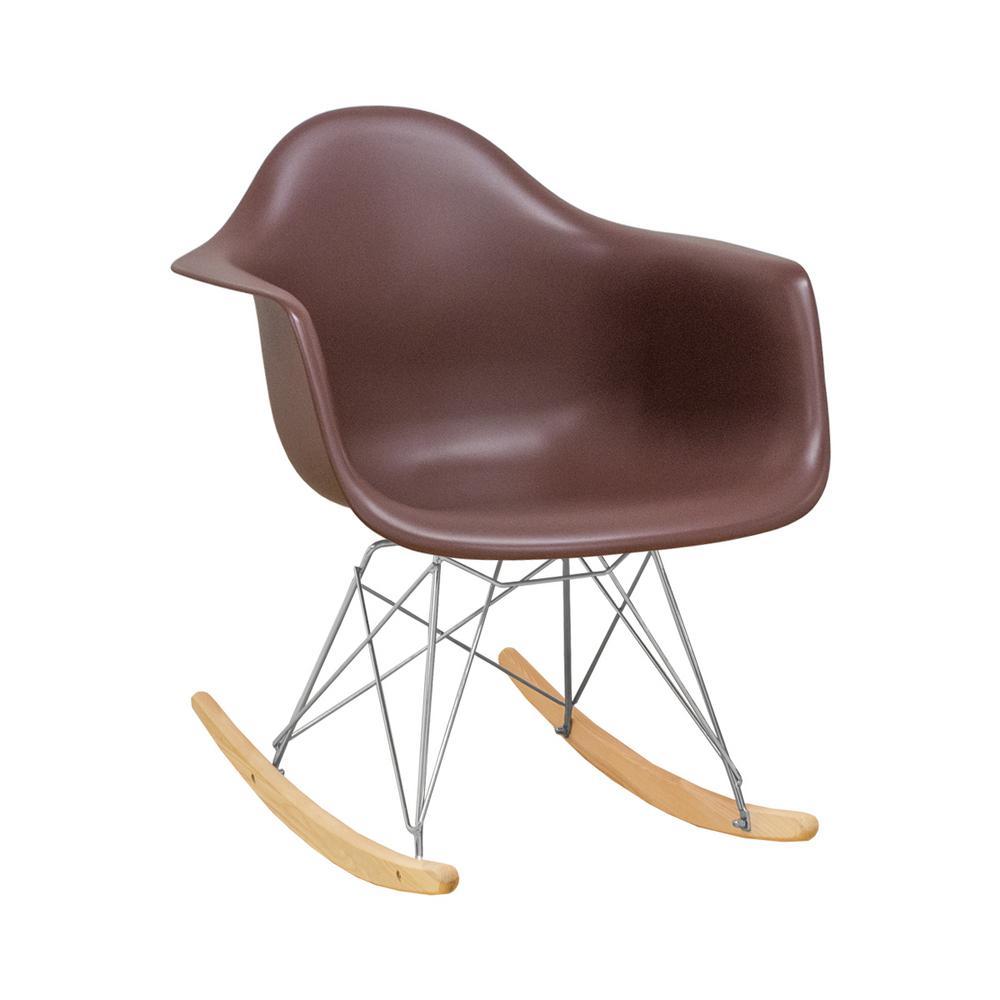 Surprising Paris Tower Rocker Chocolate Lounge Chair Lamtechconsult Wood Chair Design Ideas Lamtechconsultcom
