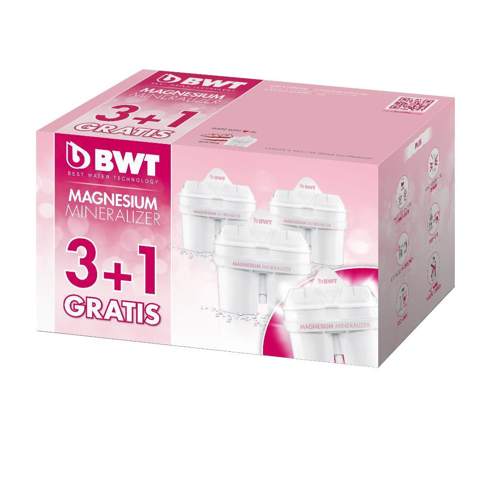 BWT 40 Gal. 3 + 1 Pack Long Life Mg2 +