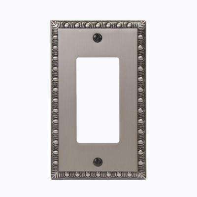 Renaissance 1 Decora Wall Plate - Antique Nickel