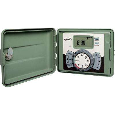4-Station Easy-Set Logic Indoor/Outdoor Sprinkler Timer