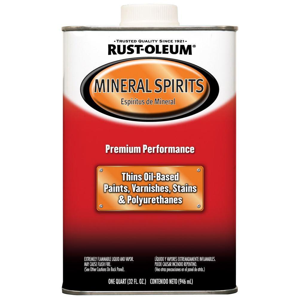 Rust-Oleum Automotive 1-qt. Low VOC Mineral Spirits Solvent (4-Pack)