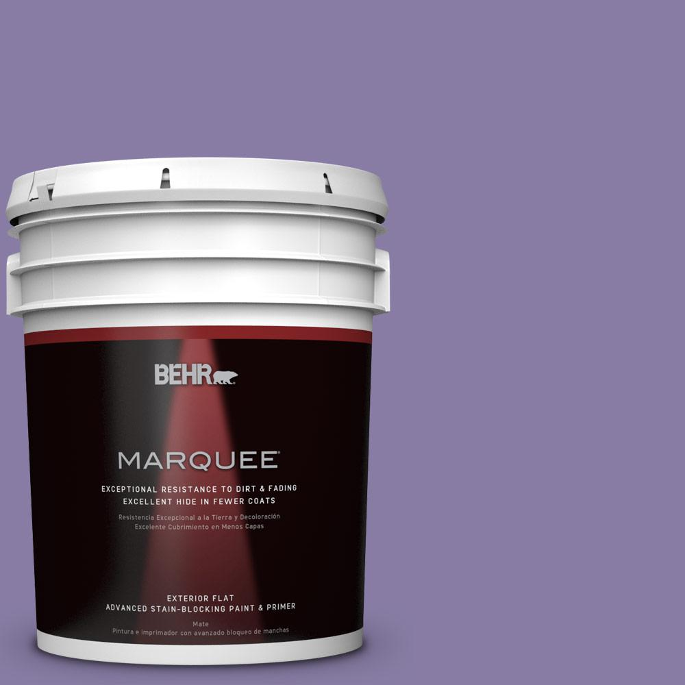BEHR MARQUEE 5-gal. #M560-5 Second Pour Flat Exterior Paint