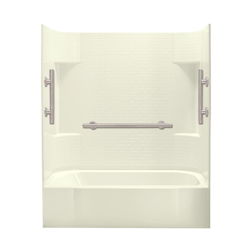 X 72 In Bath And Shower Kit