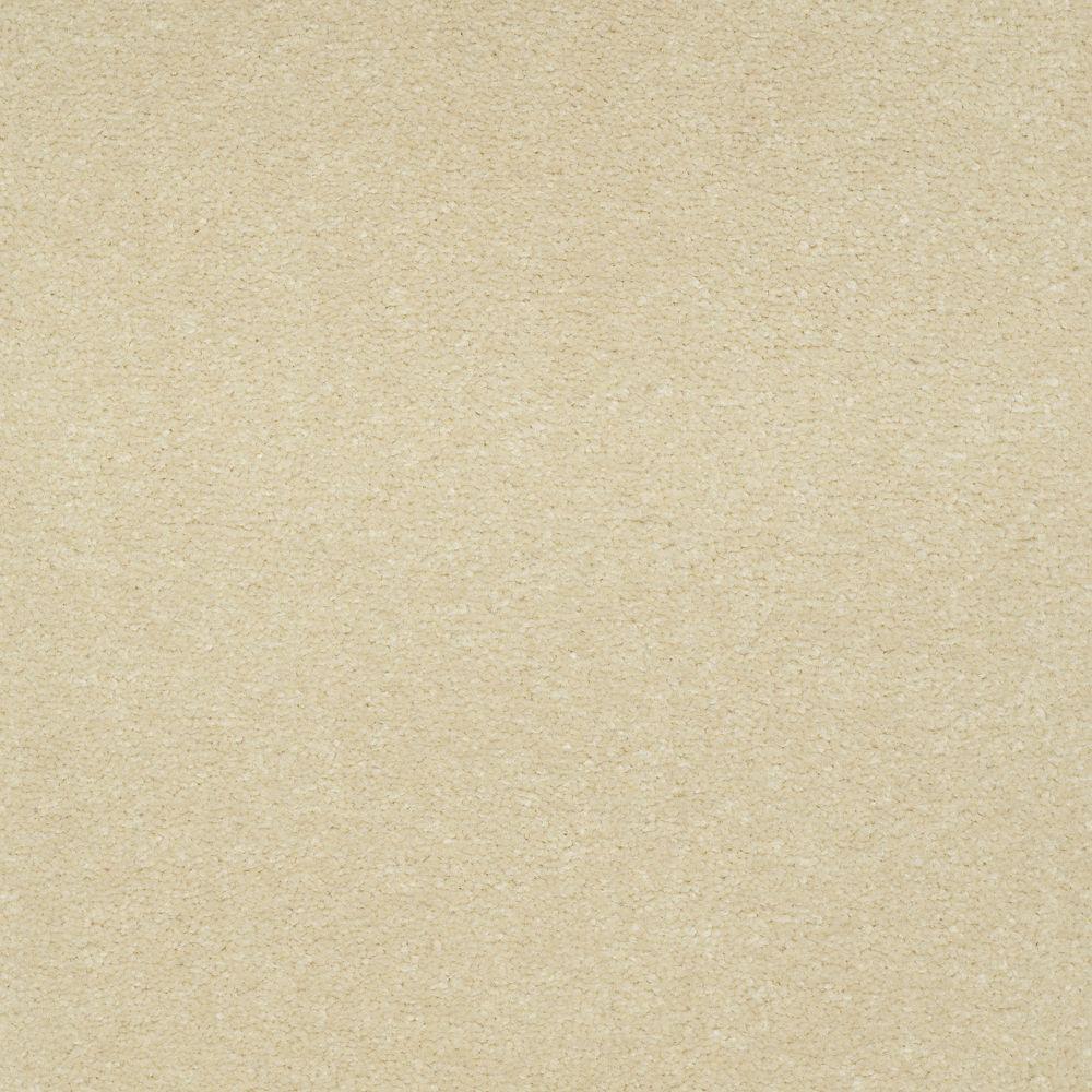 Carpet Sample - Enraptured II - Color Jasmine Texture 8 in. x 8 in.