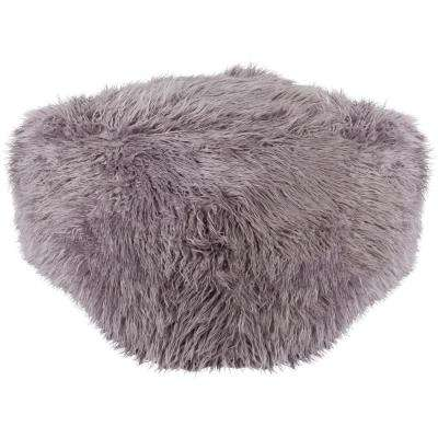 Westhrope Light Gray Accent Pouf