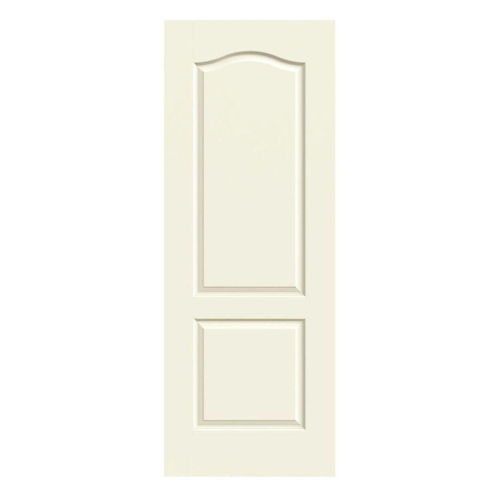 28 in. x 80 in. Princeton Vanilla Painted Smooth Solid Core