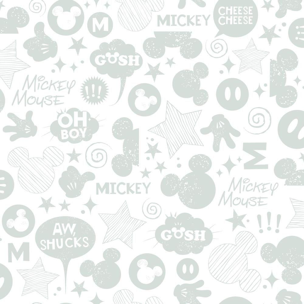 York Wallcoverings Walt Disney Kids II Animated Tonal Wallpaper DS7812 - The Home Depot