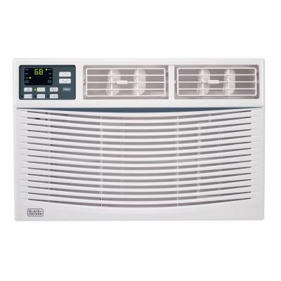 6,000 BTU Electronic Window Air Conditioner in White