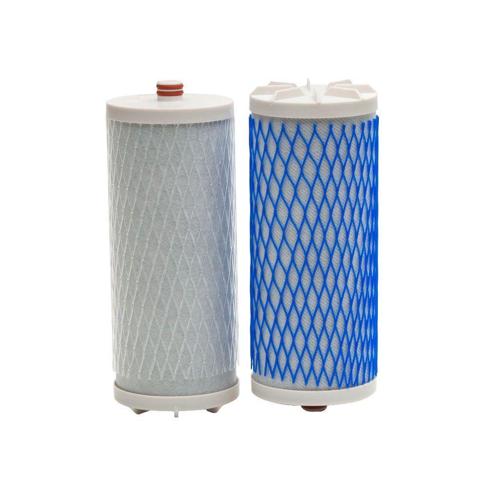 Aquasana Dual Set Counter Top Water Filter Replacement Cartridges