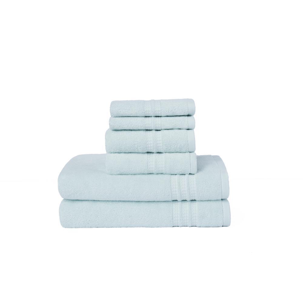 LOFT by Loftex Modern Home Trends 6-Piece Towel Set in Porcelain ...