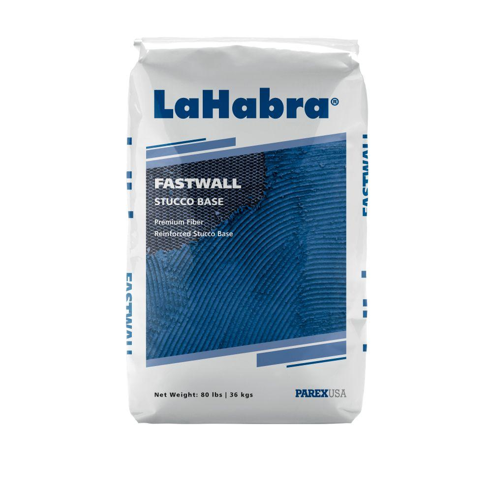 Fastwall Stucco Base 80 lb. One Coat Sanded Pump Grade Gray