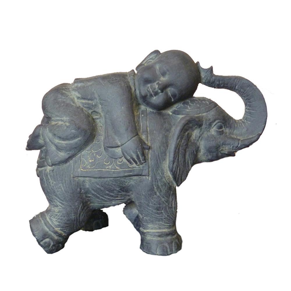 Buddha Child on Elephant