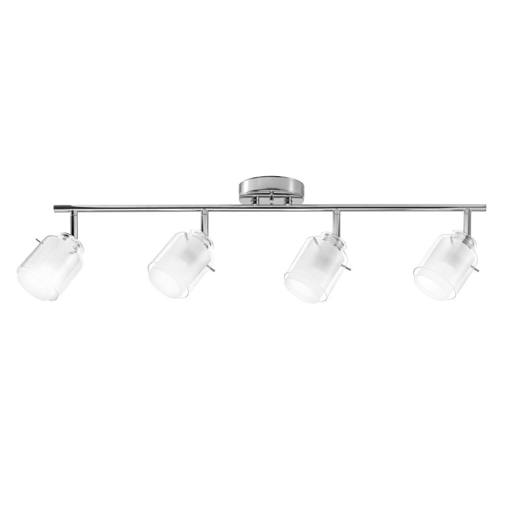 Globe Electric Sydney 2 4 Ft Light Chrome Track Lighting Kit