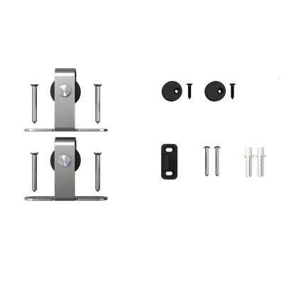 Stainless Steel Top Mount Roller Kit for Mini Sliding Furniture Barn Doors