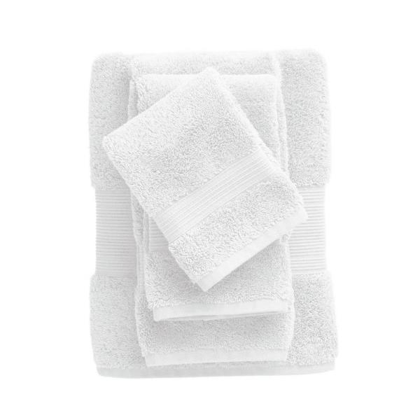 The Company Store Legends Regal White Solid Egyptian Cotton Hand Towel