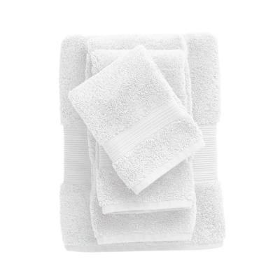 Legends Regal White Solid Egyptian Cotton Wash Cloth (Set of 2)