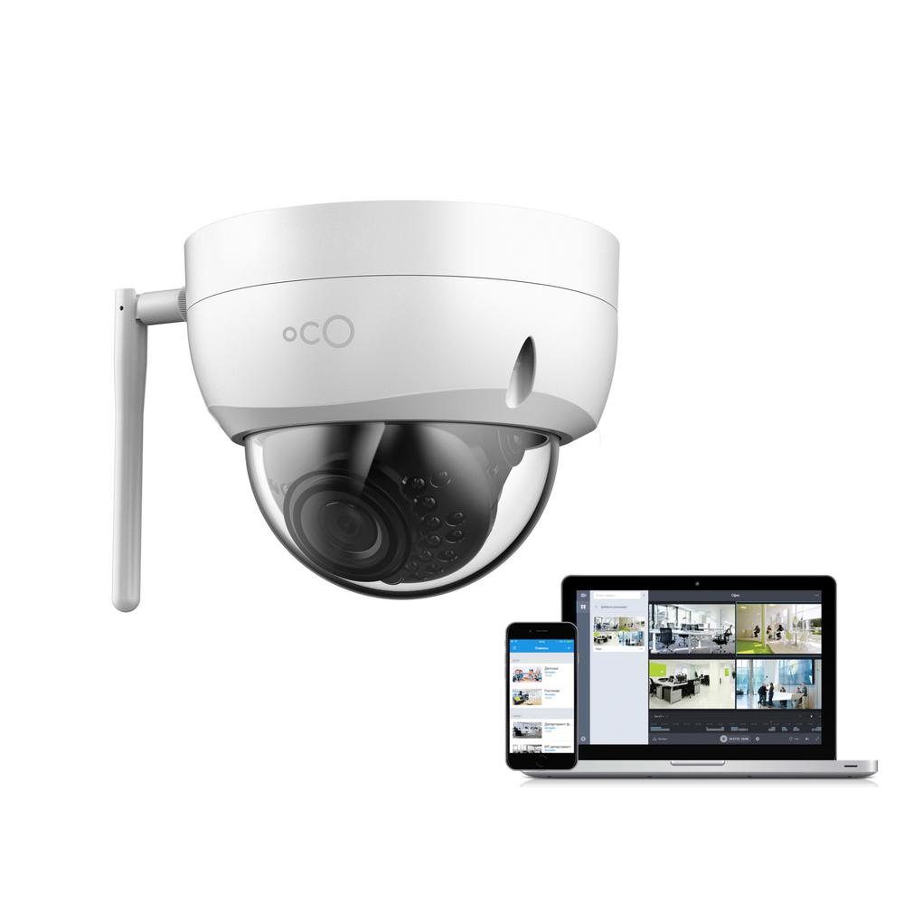 Oco Pro Dome Outdoor/Indoor 1080p Cloud Surveillance and Security ...