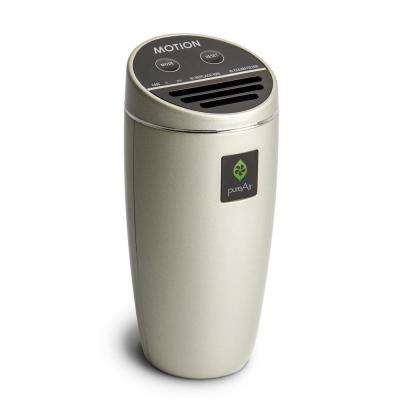 Filterless Air Purifier Compact for Vehicle, Cluster Ion Technology, Champagne